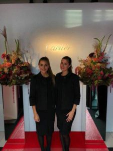 Cartier - Onthaalhostess - The Frontline Company - We Love Hospitality